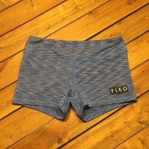 "Fleo shorts, size medium, 3.5"" inseam"